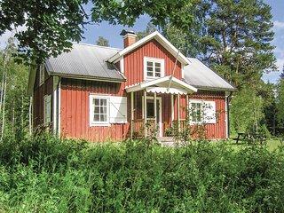 Nice home in Vislanda w/ 1 Bedrooms