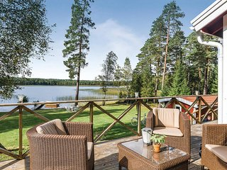 Beautiful home in Vaggeryd w/ Sauna and 2 Bedrooms