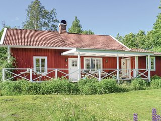 Beautiful home in Varnamo w/ Sauna and 2 Bedrooms