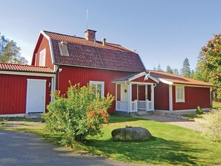 Nice home in Orrefors w/ WiFi and 5 Bedrooms