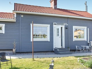 Nice home in Västervik w/ WiFi and 1 Bedrooms