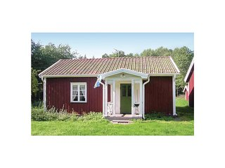 Beautiful home in Vimmerby w/ WiFi and 1 Bedrooms