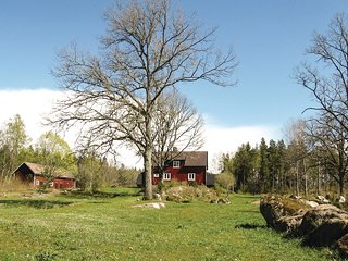 Awesome home in Vimmerby w/ Sauna and 5 Bedrooms