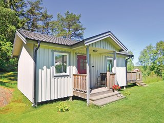 Beautiful home in Ellös w/ WiFi and 1 Bedrooms