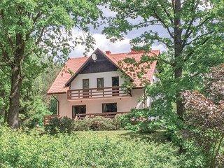 Nice home in Swietajno w/ Sauna, WiFi and 5 Bedrooms