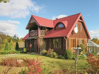 Amazing home in Zalewo w/ WiFi and 2 Bedrooms