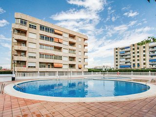 Awesome home in Santa Pola w/ WiFi and 2 Bedrooms (EBI050)