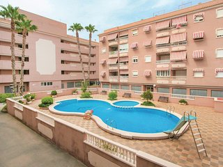 Awesome home in Santa Pola w/ 1 Bedrooms (EBI049)