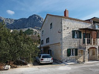 Stunning home in Gornja Podgora w/ WiFi and 1 Bedrooms