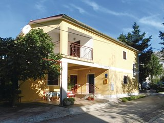 Awesome home in Starigrad Paklenica w/ WiFi and 2 Bedrooms