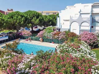 Amazing home in Le Grau du Roi with 1 Bedrooms and Outdoor swimming pool (FLG482