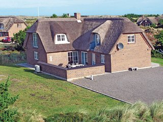 Stunning home in Blåvand w/ Sauna, WiFi and 5 Bedrooms (P32128)