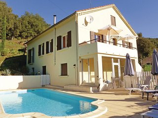 Nice home in Les Salles du Gardon w/ WiFi and 3 Bedrooms