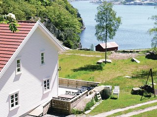 Awesome home in Farsund w/ Sauna and 6 Bedrooms (N36685)