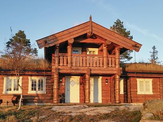 Stunning home in Dølemo w/ Sauna, WiFi and 4 Bedrooms (N34615)