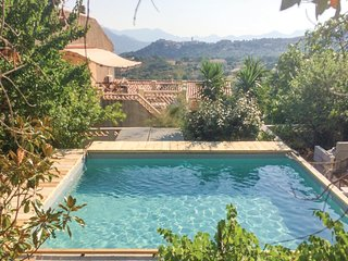 Beautiful home in Montegrossu w/ Jacuzzi, WiFi and 2 Bedrooms (FKO286)