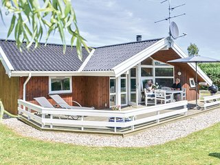 Nice home in Hesselager w/ Sauna, WiFi and 4 Bedrooms