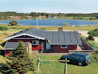 Stunning home in Vejers Strand w/ Sauna, WiFi and 4 Bedrooms (P32003)