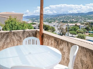 Nice home in Ile Rousse w/ WiFi and 1 Bedrooms