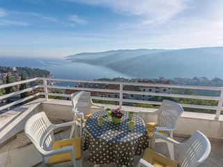 Awesome home in Rabac w/ WiFi and 2 Bedrooms