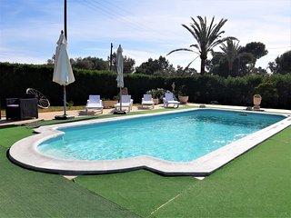 Precioso Chalet en S'Amarador con WIFI, piscina privada, aire acondic y barbacoa