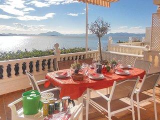 Nice home in La Manga del Mar Menor w/ 2 Bedrooms