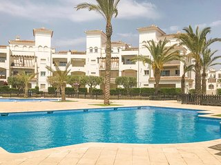 Beautiful home in Torre Pacheco w/ WiFi and 2 Bedrooms