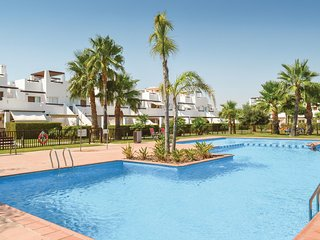 Stunning home in Alhama de Murcia w/ WiFi and 2 Bedrooms