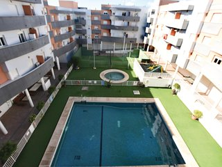 Beautiful apartment in Cabañuelas w/ WiFi, Outdoor swimming pool and 2 Bedrooms
