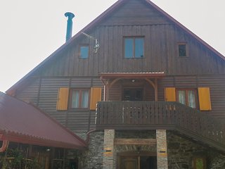Stunning home in Skrad w/ Sauna, WiFi and 3 Bedrooms