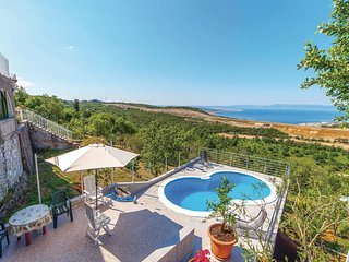 Beautiful home in Krasica w/ WiFi and 2 Bedrooms (CKC672)