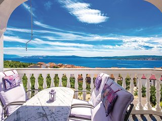 Awesome home in Crikvenica w/ WiFi and 1 Bedrooms