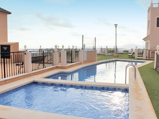 Awesome home in Aguilas w/ 2 Bedrooms and Outdoor swimming pool