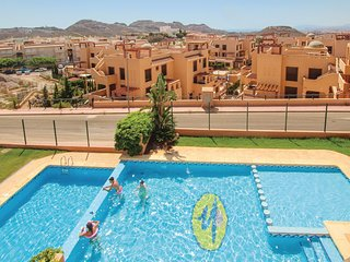 Amazing home in Aguilas w/ WiFi and 2 Bedrooms