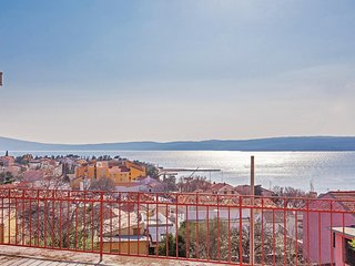 Nice home in Selce w/ WiFi and 3 Bedrooms (CKC827)