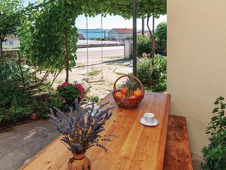 Amazing home in Maslenica w/ WiFi and 1 Bedrooms
