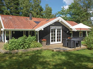 Stunning home in Rønde w/ Sauna, WiFi and 3 Bedrooms (D50341)