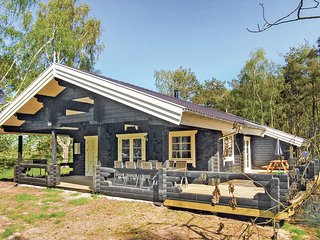 Beautiful home in Aakirkeby w/ Sauna, WiFi and 3 Bedrooms (I53510)
