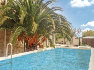 Nice home in St Andre de Roquelongu w/ WiFi and 6 Bedrooms (FLA149)