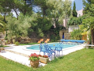 Beautiful home in Montseret w/ WiFi, 0 Bedrooms and Outdoor swimming pool