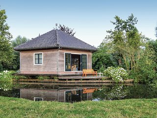Awesome home in Breukelen w/ WiFi and 1 Bedrooms (HUT039)