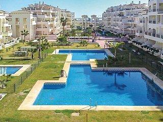 Stunning home in Roquetas de Mar w/ WiFi, Outdoor swimming pool and 2 Bedrooms (