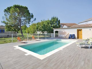 Stunning home in St Christol Les Ales w/ WiFi and 4 Bedrooms