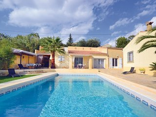 Stunning home in Theziers w/ WiFi and 3 Bedrooms