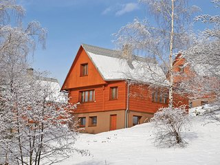 Stunning home in Kuncice pod Ond. w/ WiFi, 3 Bedrooms and Outdoor swimming pool