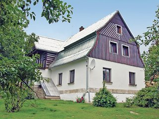 Awesome home in Drzkov w/ Sauna, WiFi and 4 Bedrooms