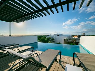 BEAUTIFUL 1 BEDROOM PENTHOUSE Aldea Zama  / Quinto Sol 23