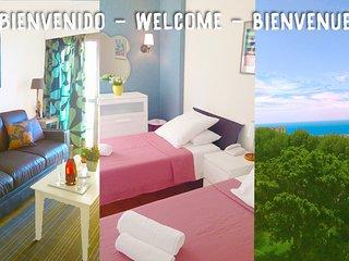 Appartement 1 chambre, vue sur la mer, piscine
