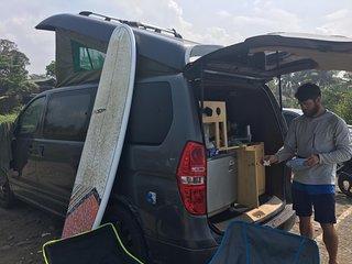 Campervan for hire. Let's have a roadtrip java bali