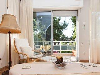 Fabulous apartment in Paleo Faliro across from Flisvos Marina!